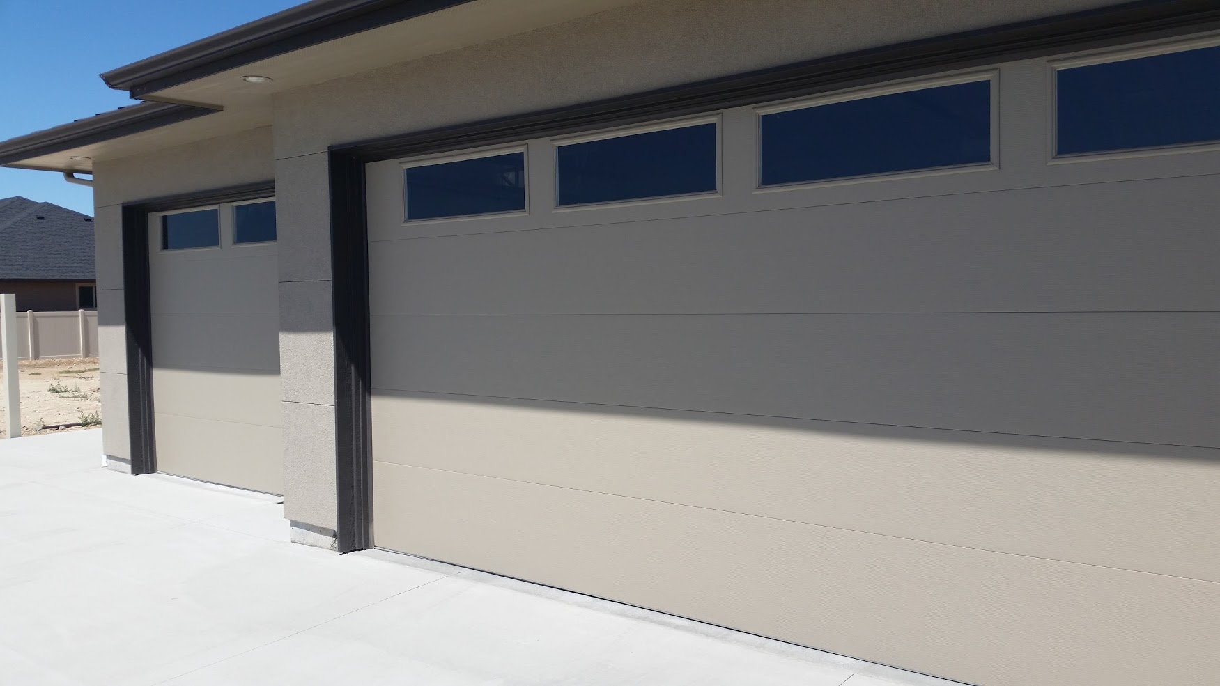 Good CUSTOM GARAGE OPTIONSu2013 Not Every Garage Is One Size Fits All. Sometimes You  Need A Custom Size Door For Odd Sized Openings, Low Clearance Issues, ...